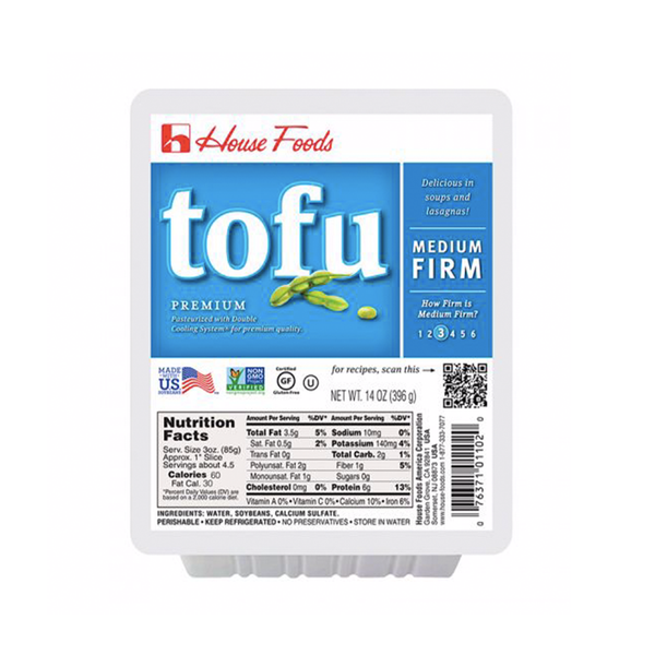 House Foods Premium Tofu Medium Firm (396g)