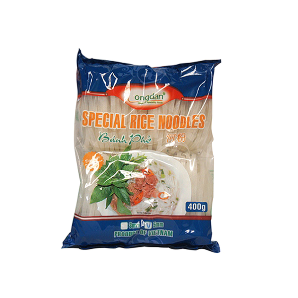 Longdan Pho Rice Noodles 3mm (400g)