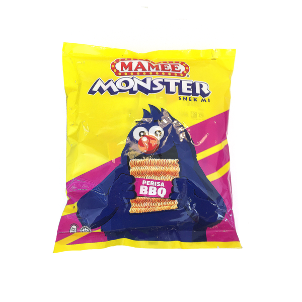 Mamee Monster Noodle Snack BBQ (25g x 8 Packs)