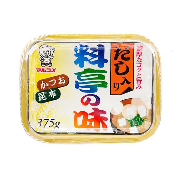 Marukome Ryotei No Aji Miso with Dashi (375g)