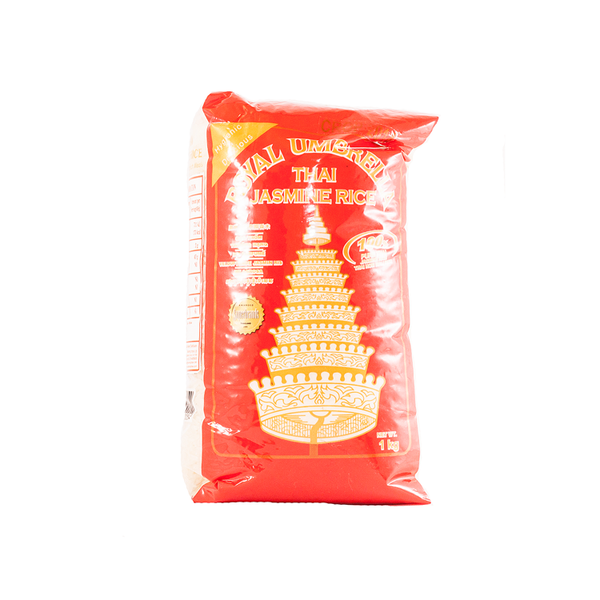 Royal Umbrella Thai Jasmine Rice Whole (1kg)
