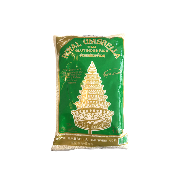 Royal Umbrella White Thai Glutinous Rice (1kg)