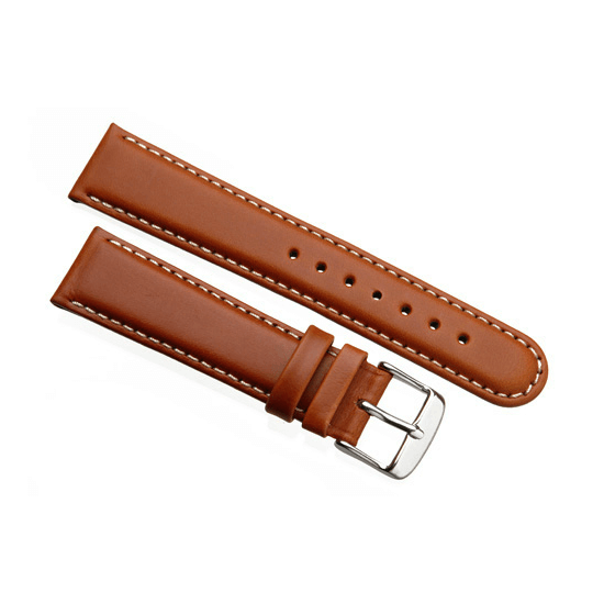'Aerosport Mk2' Tan Leather Watch Strap