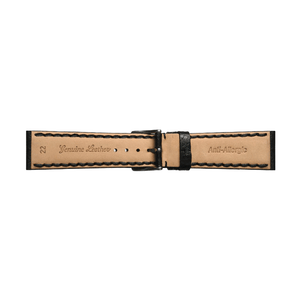 'Atlas' Padded Leather Watch Strap