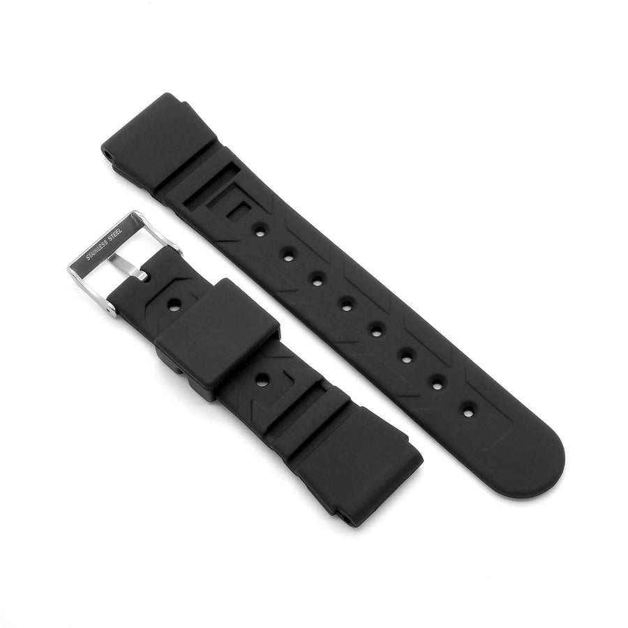 'Diver 2' Rubber Watch Strap