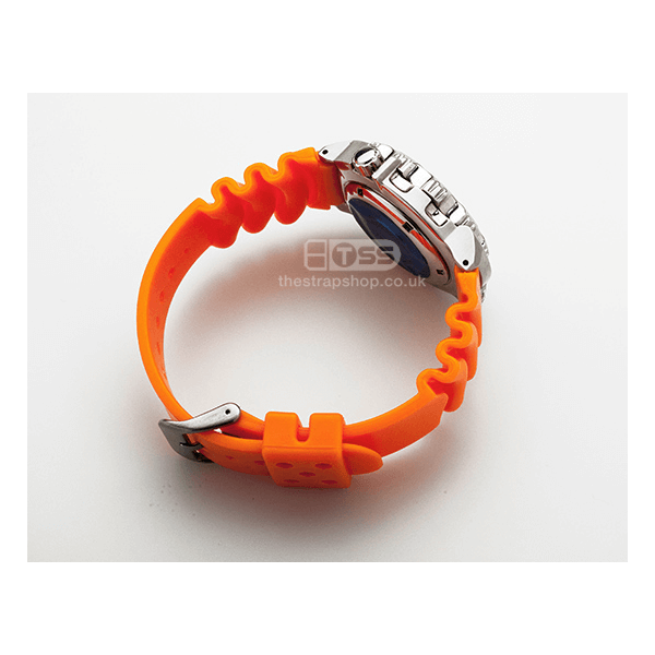 TSS 'Diver 3' PU Watchstrap (Orange)
