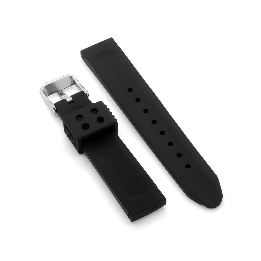 'Marine' Rubber Watch Strap