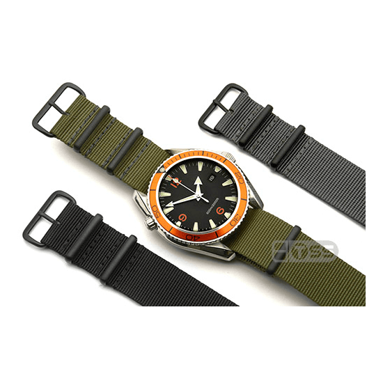 'Nato G10' Nylon Military Watch Strap Colours