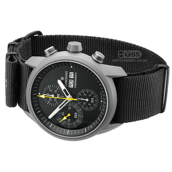 'Nato G10' Nylon Military Watch Strap On Junghans