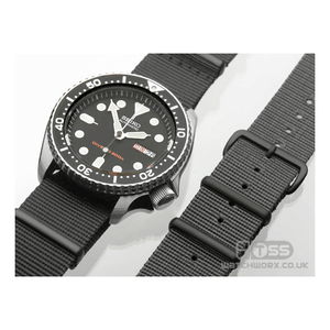 'Nato G10' Watch Strap with Black PVD Fittings