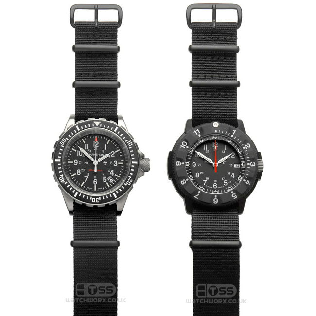 'Nato G10' Nylon Military Watch Strap