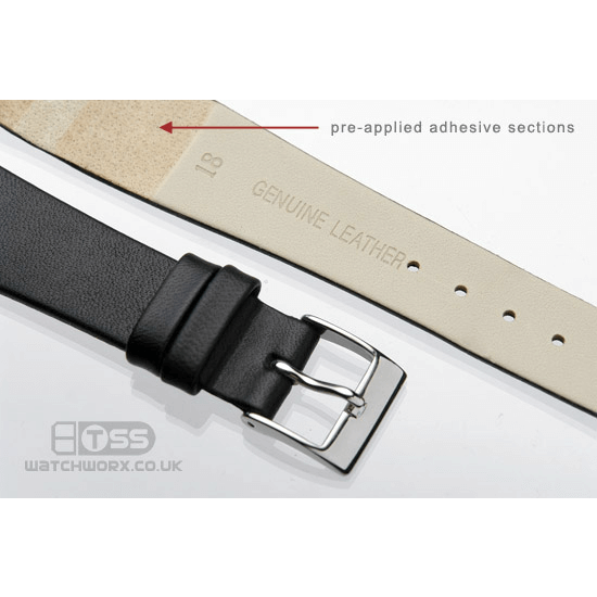'OE Calf' Open Ended Watch Strap Adhesive