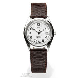 'OE Lizard' - Lizard Grain Leather Open Ended Watch Strap