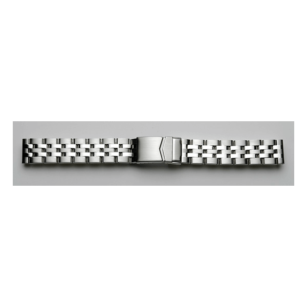 'T28' Solid Link Stainless Steel Watch Bracelet On Omega