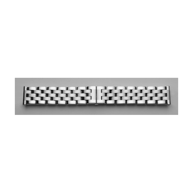 'T34' Solid Link Stainless Steel Watch Bracelet