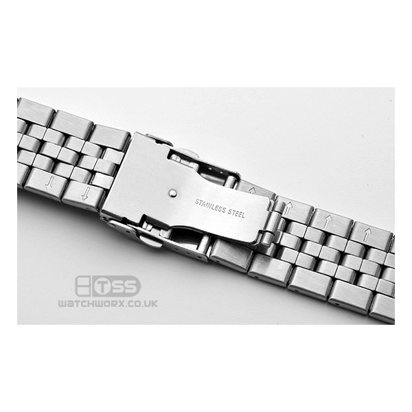 'T35' Stainless Steel Watch Bracelet Clasp