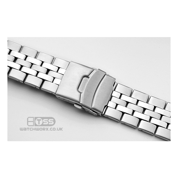 'T35' Stainless Steel Watch Bracelet On Chronograph