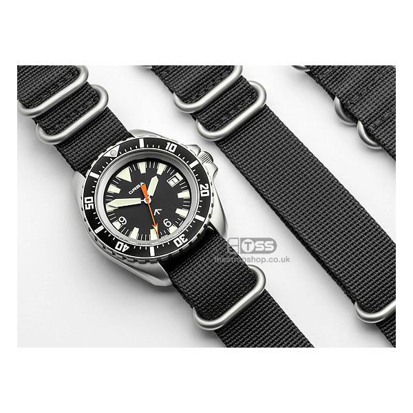 'Tactical IV' Nylon Zulu Watch Strap