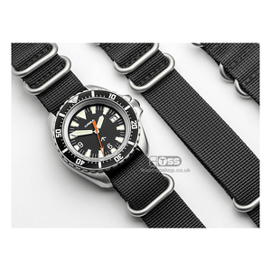 'Tactical IV' Heavy Duty Webbing Watch Strap