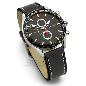 'TITAN CS' Double Thickness Matt Leather Watch Strap