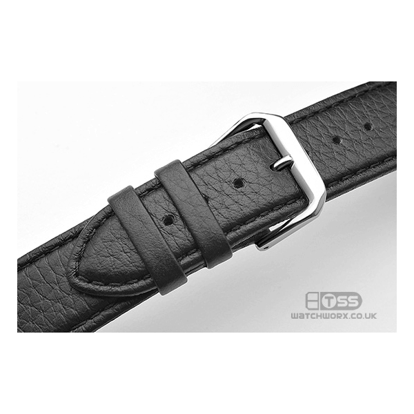 'Verona XL' Leather Watch Strap Buckle