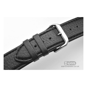 'Verona' Padded Genuine Calf Leather Watch Strap