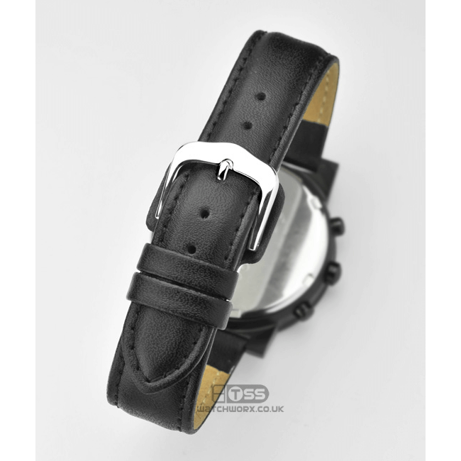 'Wrist Protector' Leather Watch Strap Buckle