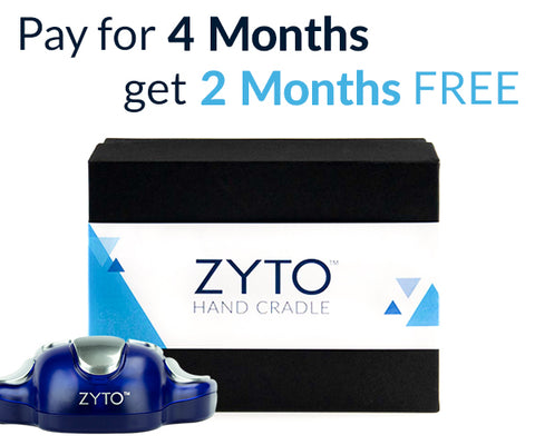 ZYTO Balance - Buy 4 Months of Subscription, Get 2 Additional Months Free.