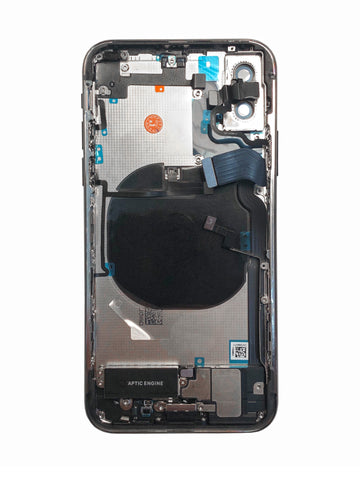 iPhone X Rear Housing (with small components)