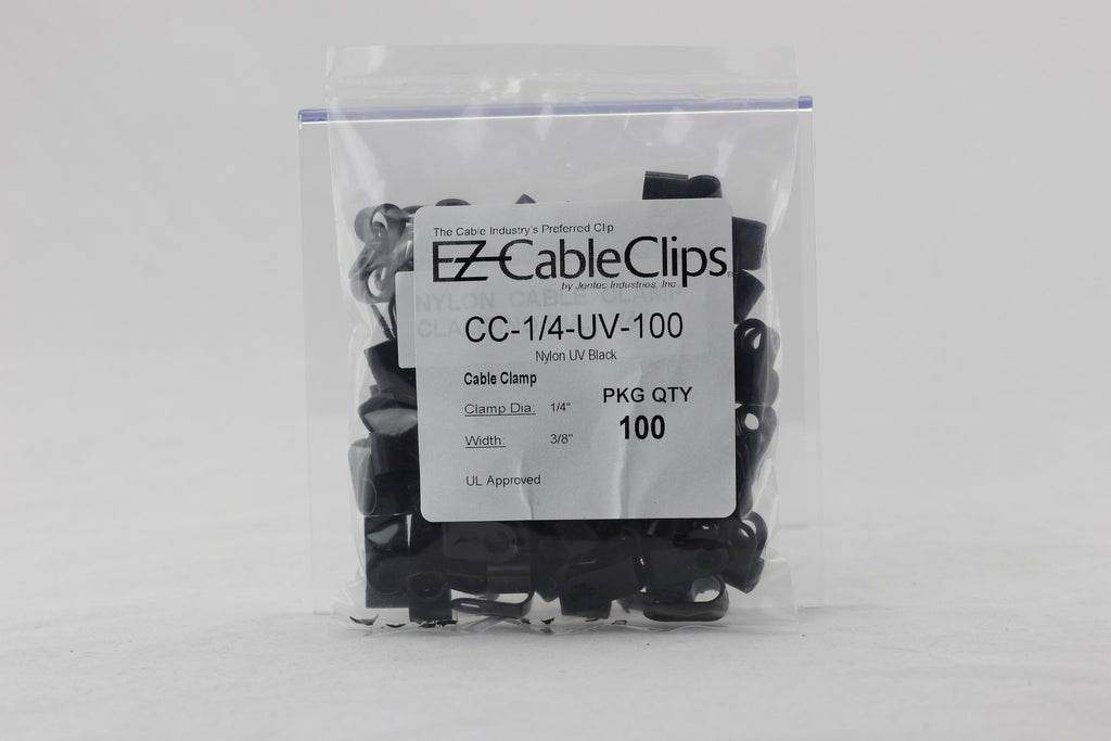 cable clamp black