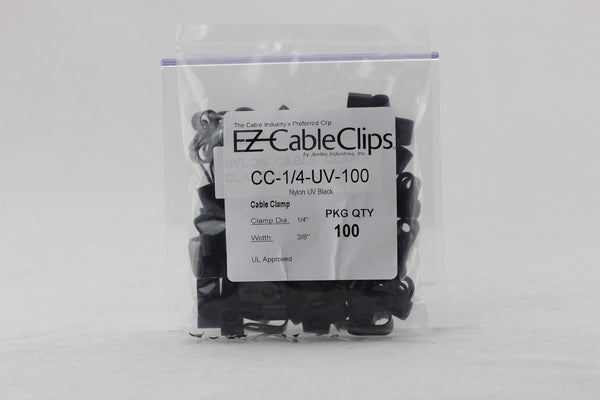 Cable Clamps Black