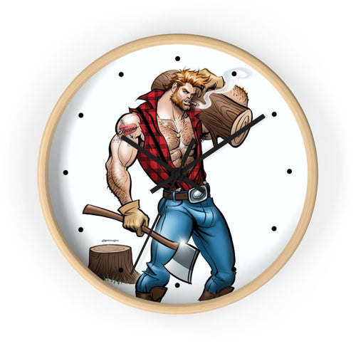 LUMBERJACK • Wall clock