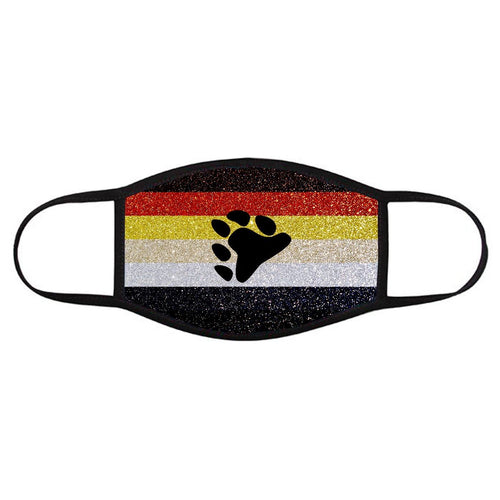 BEAR PRIDE FLAG • Face Cover