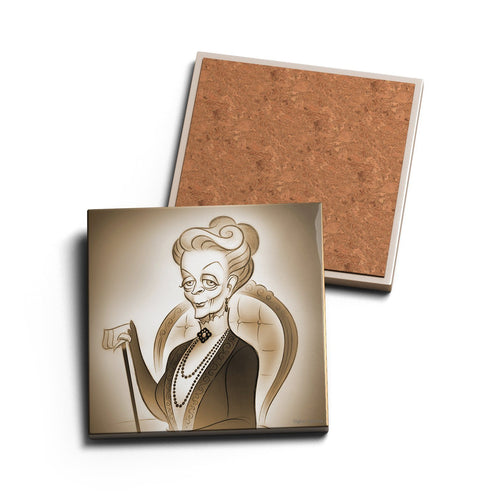 DOWAGER • CERAMIC COASTER