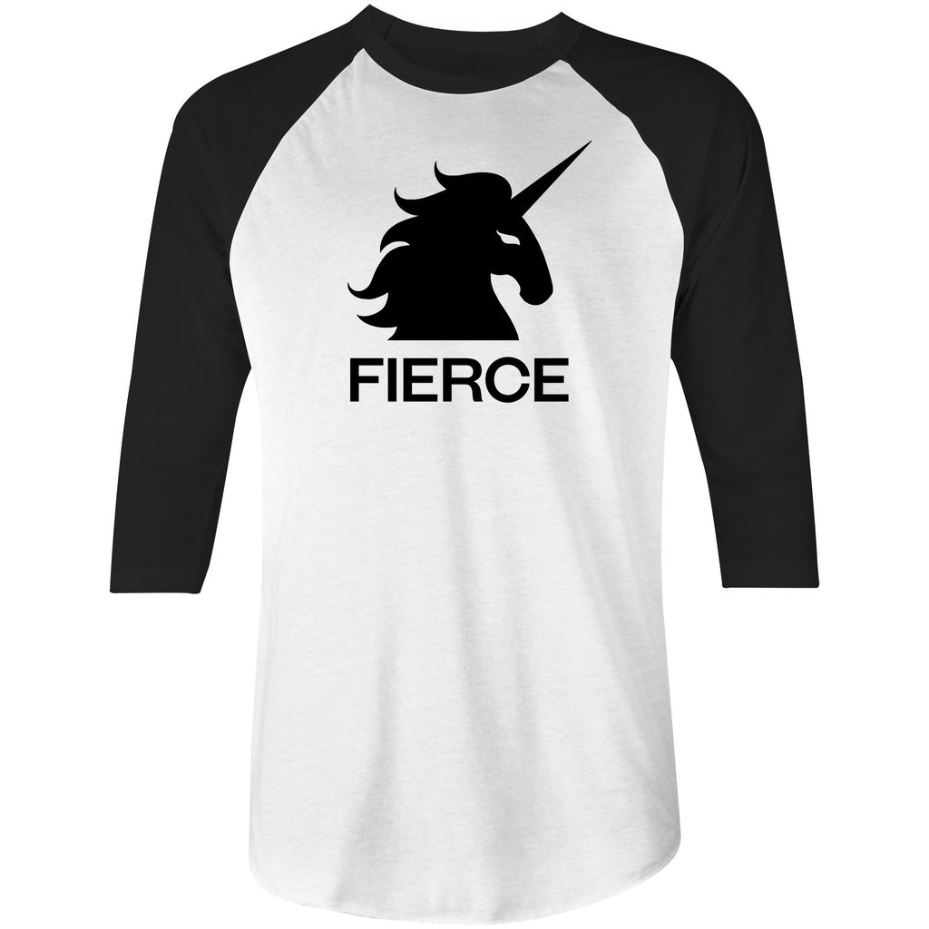 FIERCE UNICORN • 3/4 SLEEVE