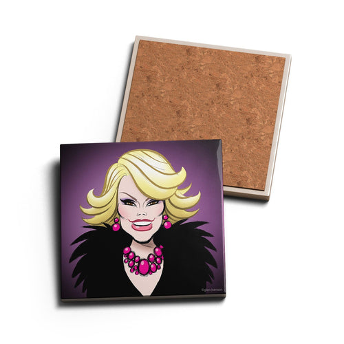 FUNNY LADY • CERAMIC COASTER
