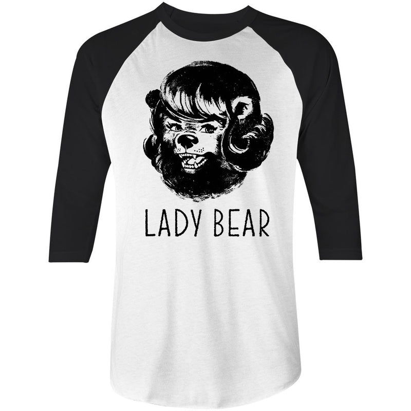LADY BEAR - GOLDIE LOCKS • 3/4 SLEEVE