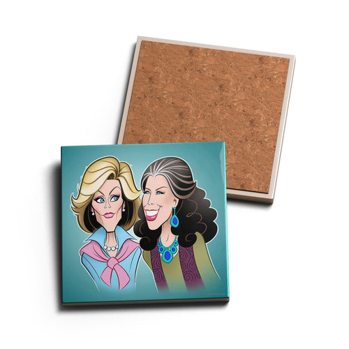 GREAT FRIENDS • CERAMIC COASTER