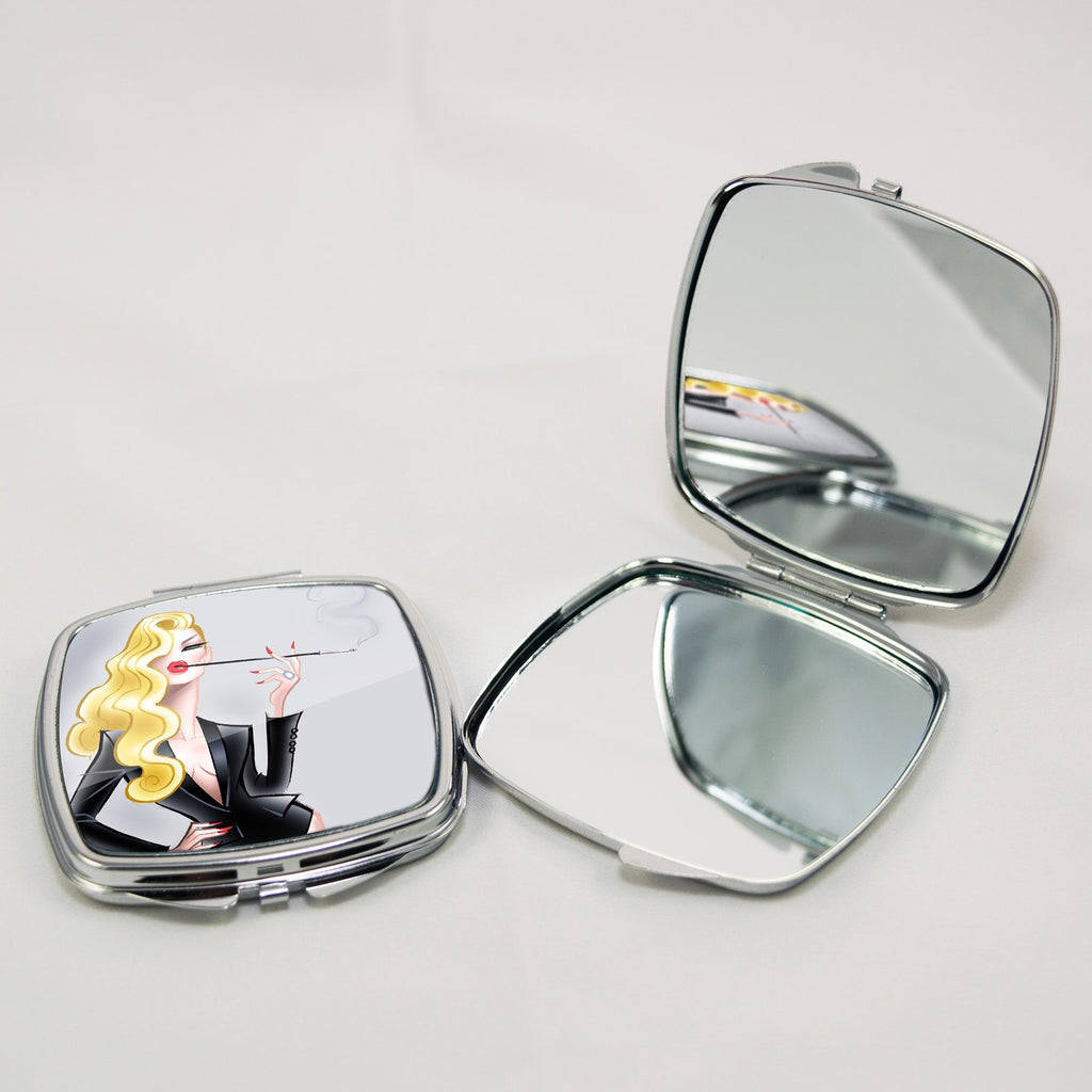 Glamour Tux • Compact Mirror