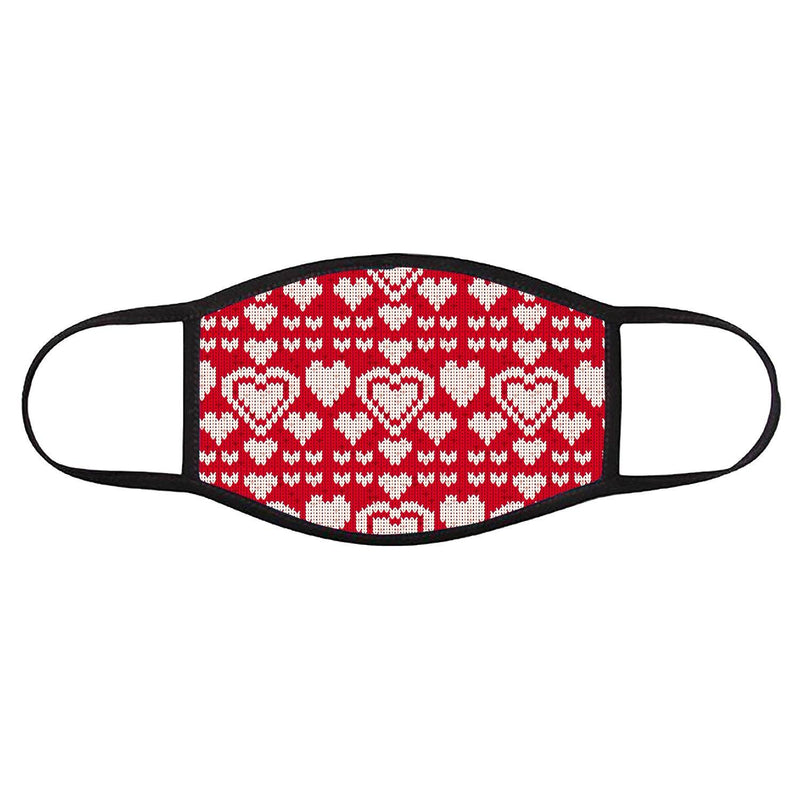 Red Heart Sweater • Face Cover