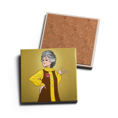 MAUDE • CERAMIC COASTER