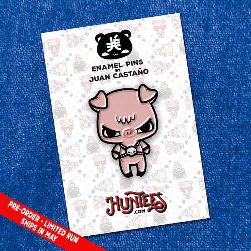 HARNESS PIGGY • ENAMEL PIN