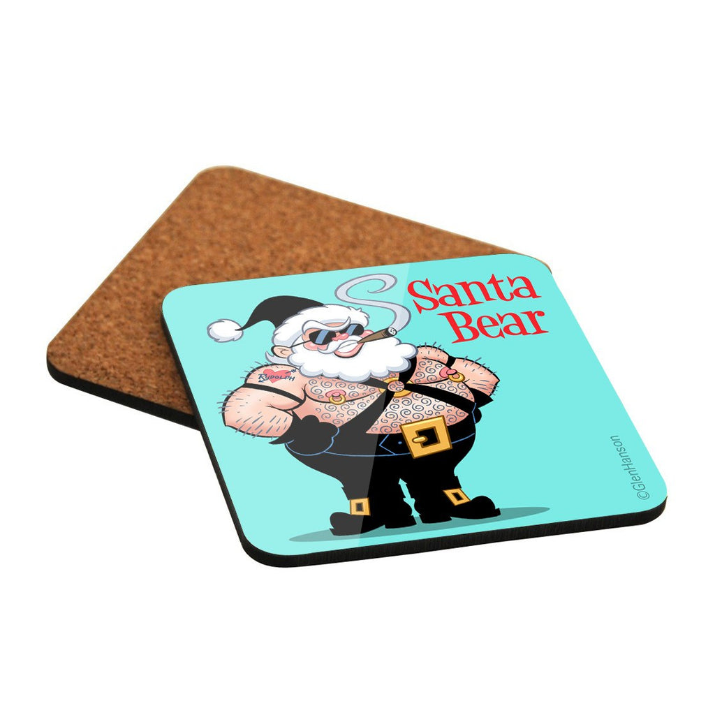 SANTA BEAR and the 7 Gay Elves • COASTERS