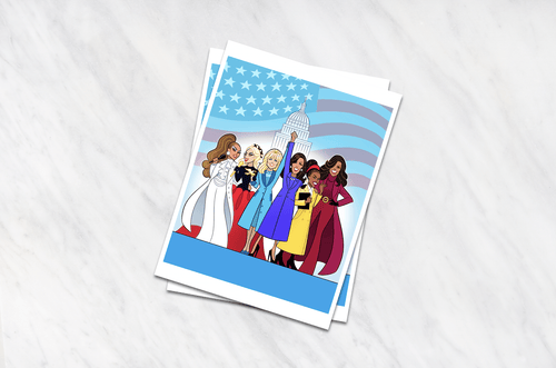 INAUGURATION • 8 by 10 ART PRINT