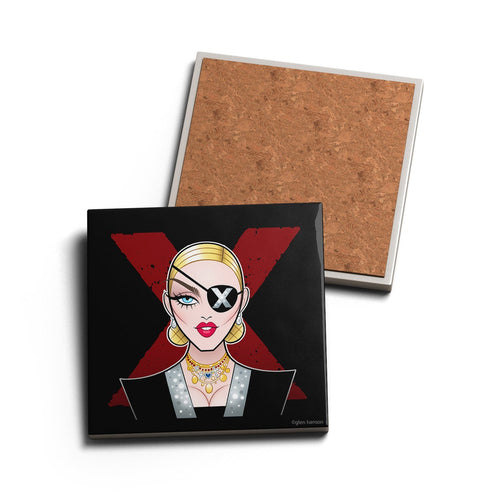 SPY LADY • CERAMIC COASTER