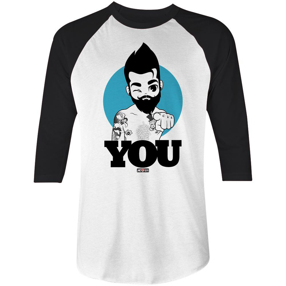 I WANT YOU • 3/4 SLEEVE