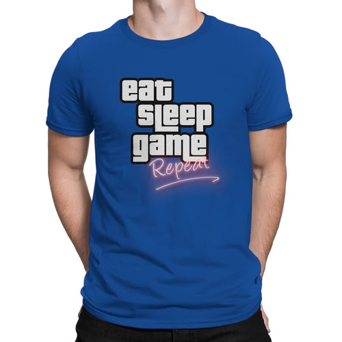 EAT SLEEP GAME REPEAT • TEE
