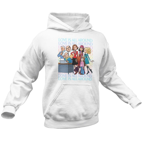 LOVE IS ALL AROUND • HOODIE
