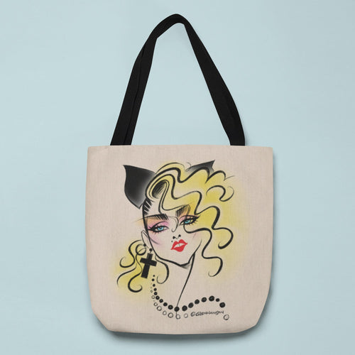 LUCKY STAR • CANVAS TOTE