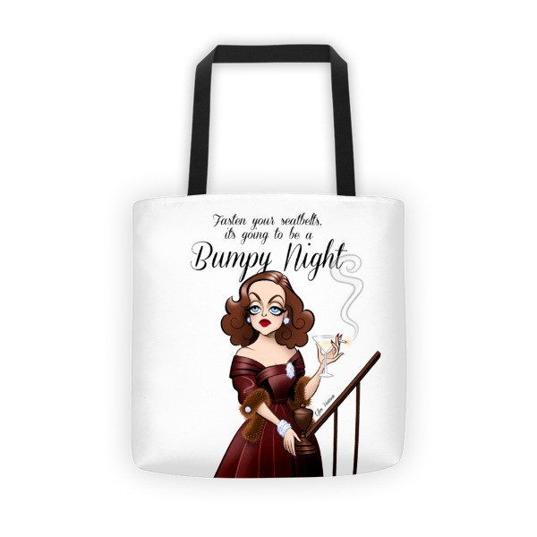 Bumpy Night • Tote bag